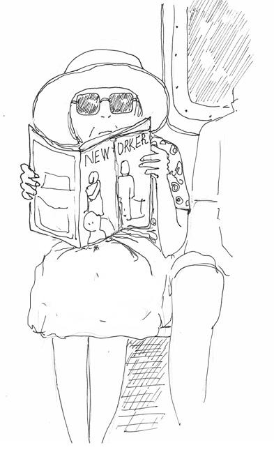 Subway Lady