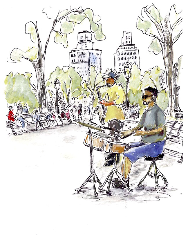 musicians washington square