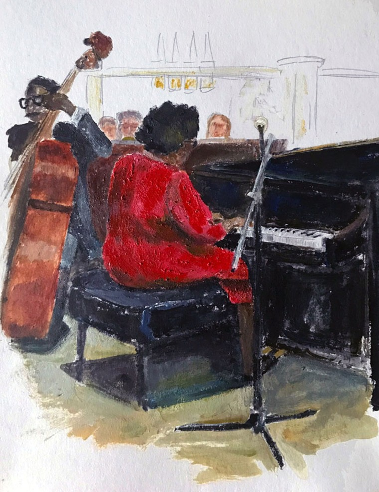 LeDuc_Martha_Jazz_at_Knickerbocker_Bar_6x8_Acrylic_200